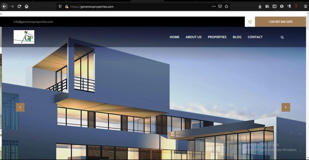Generevs  Our Web and Application Development Generevs Properties