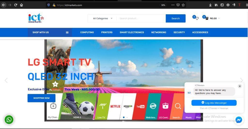 ictmarkets  Our Web and Application Development ICTMarkets
