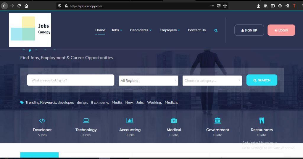 jobscanopy  Our Web and Application Development Jobscanopy